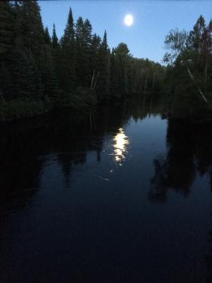 Lune inversée
