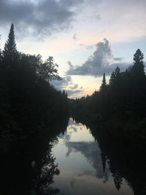 Rivière du Nord, 9 août 2018 (grand format)